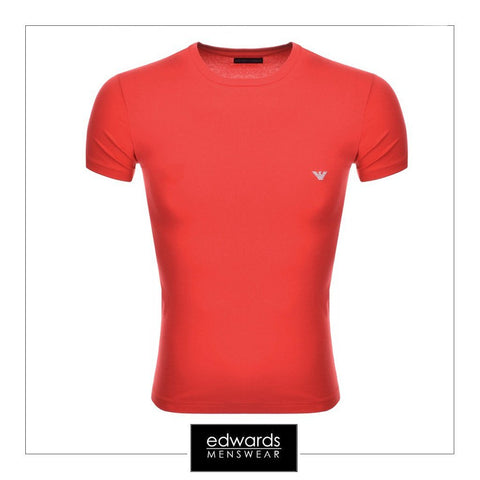 Emporio Armani Tee Shirt in Red