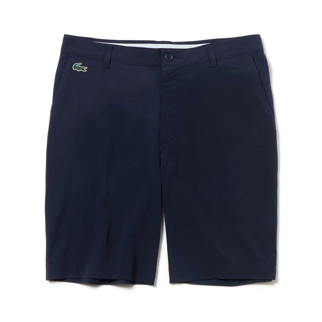 Lacoste Sport FH9524-166 Stretch Technical Bermuda Shorts in Navy