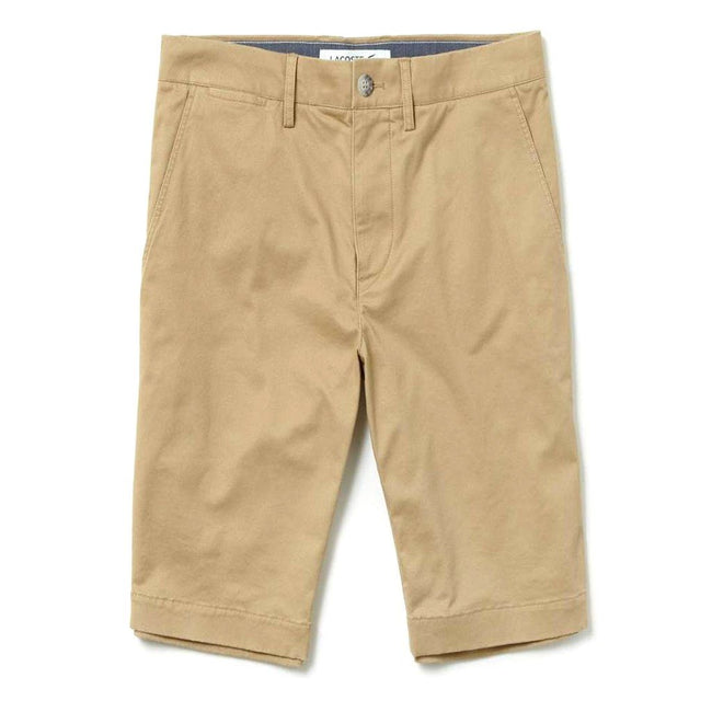 Lacoste FH9542-02S Slim Fit Chino Shorts in Sand