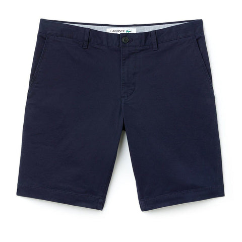 Lacoste FH9542-166 Slim Fit Chino Shorts in Navy Shorts Lacoste