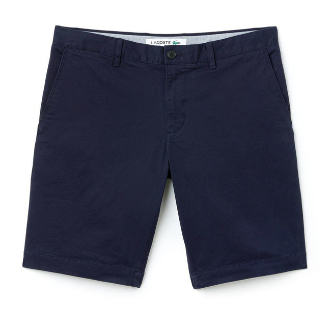 Lacoste FH9542-166 Slim Fit Chino Shorts in Navy