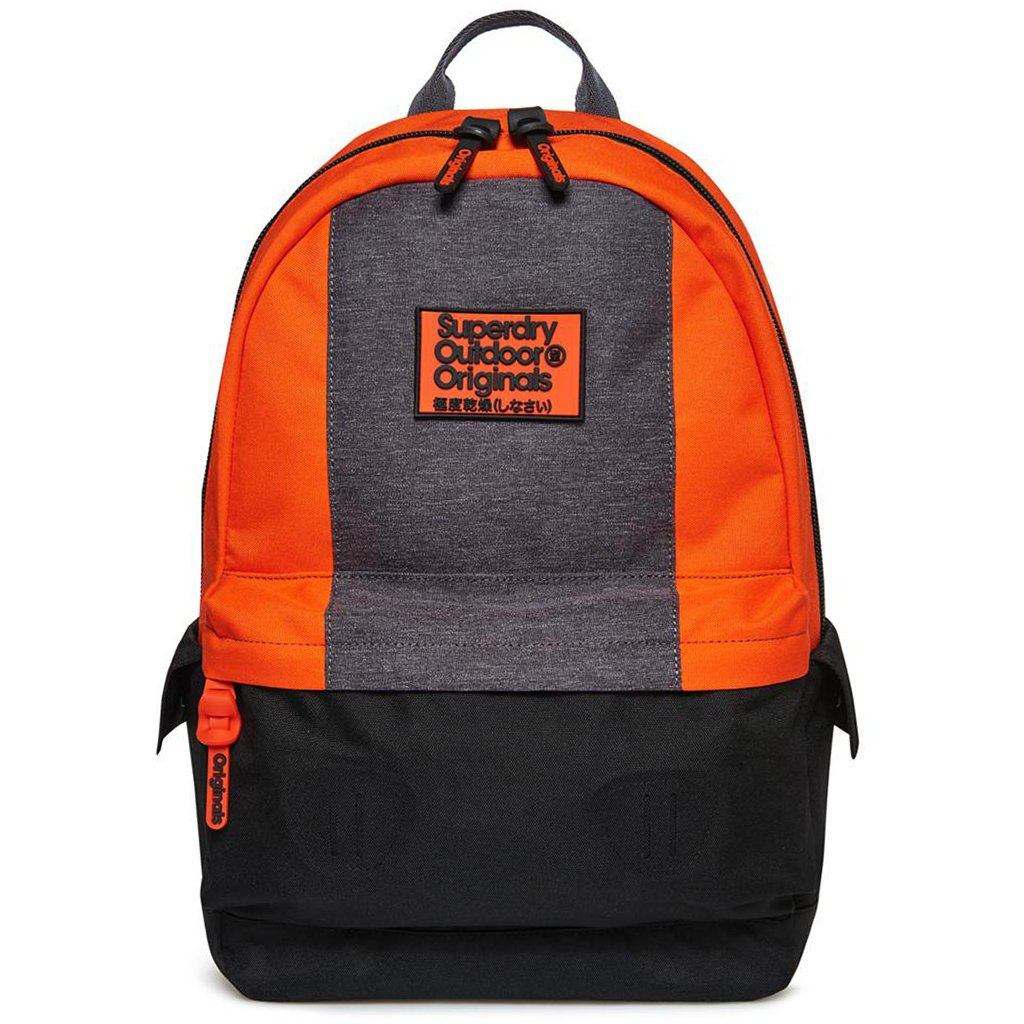 Mens Superdry Formula Montana in Black / Orange