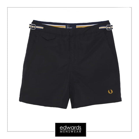 Fred Perry Classic Swim Shorts in Navy