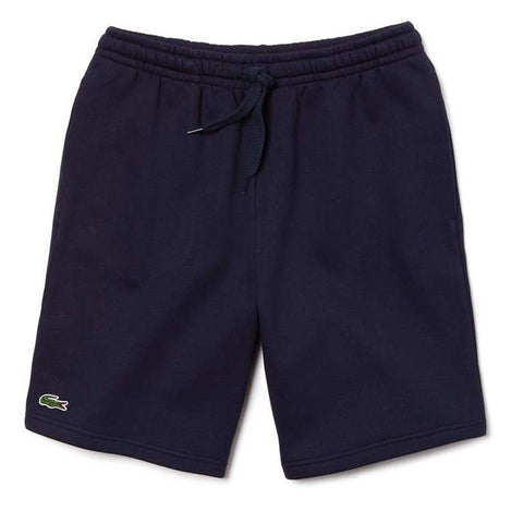GH2136-166 Fleece Shorts in Navy Shorts Lacoste Sport