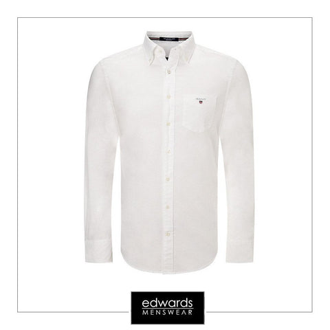 Gant ''The Oxford'' Shirt in Pure White