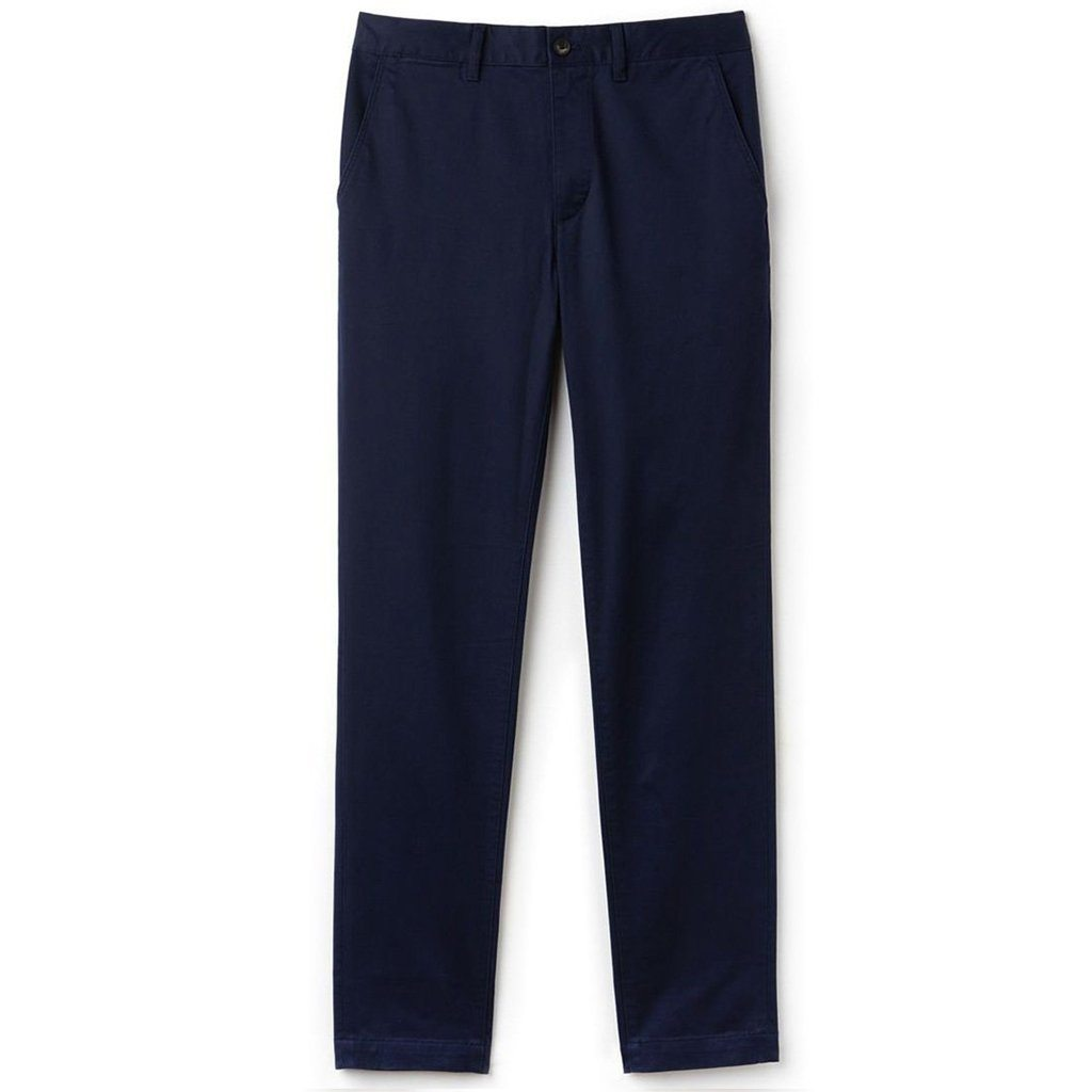 Lacoste HH4601-166 Slim Fit Chino's in Marine