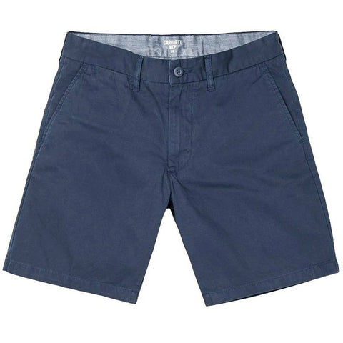 Carhartt John Shorts in Cotton Blue Shorts Carhartt
