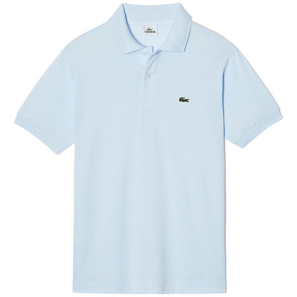 Lacoste Polo Shirt L1212-T01 in Sky Blue