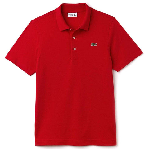 Lacoste Sport L1230-240 Polo Shirt in Red Polo Shirts Lacoste