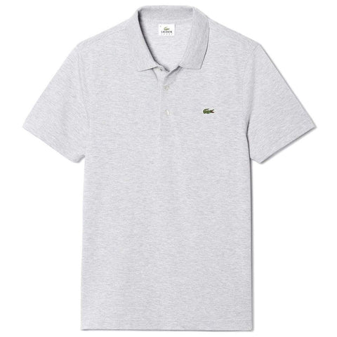 Lacoste Sport L1230-CCA Polo Shirt in Grey Polo Shirts Lacoste