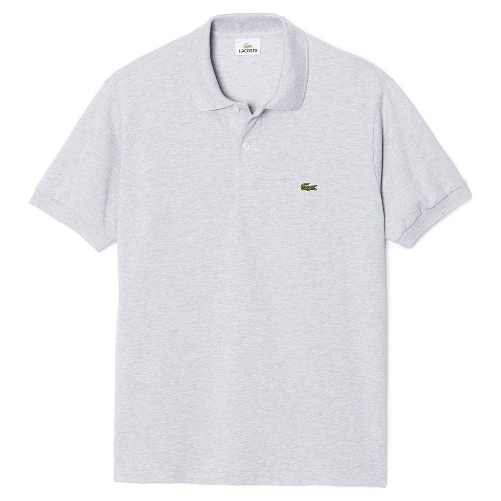Lacoste L1264-CCA Classic Fit Polo Shirt in Grey