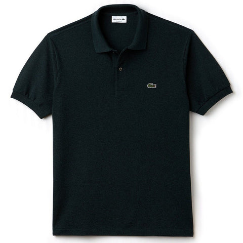 Lacoste L1264-SD4 Classic Fit Polo in Pin Mouline Polo Shirts Lacoste