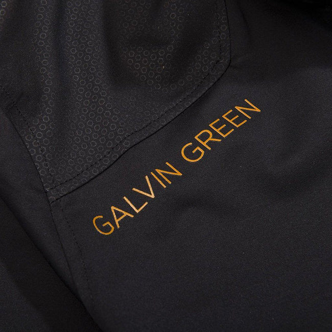 Galvin Green Lance Interface-1 Golf Jacket in Black / Orange