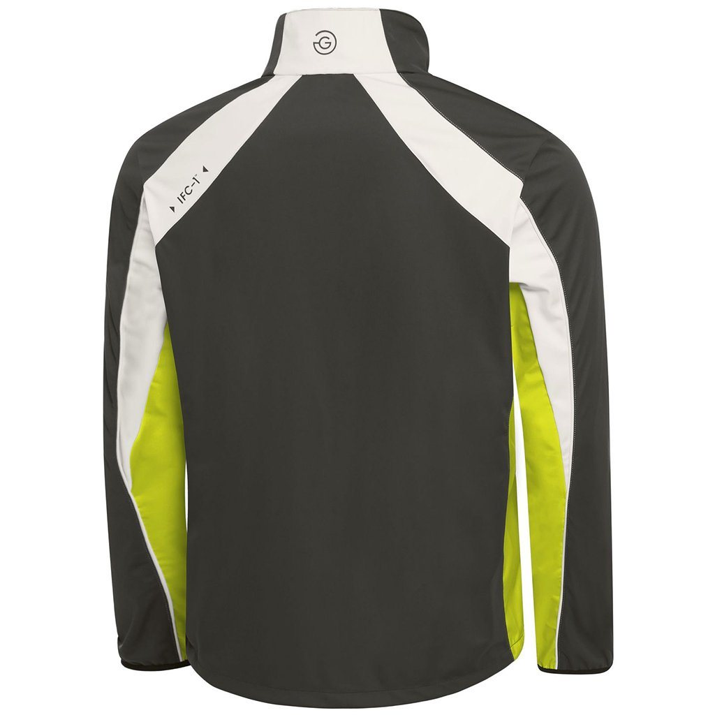 Galvin Green Lennox Interface-1 Half Zip Windstopper in Beluga / Lemonade / Snow Coats & Jackets Galvin Green