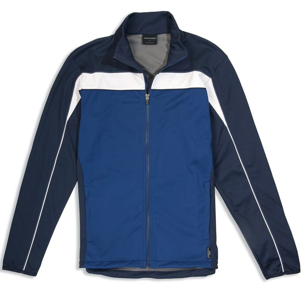 Galvin Green Leon Gore Windstopper Interface-1 Golf Jacket in Navy