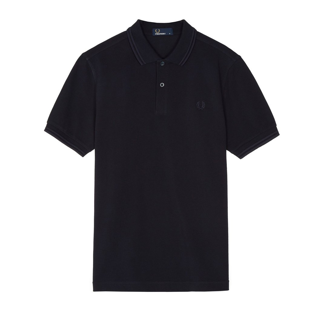 Fred Perry M3600 Twin Tipped Polo Shirt in Navy / Navy
