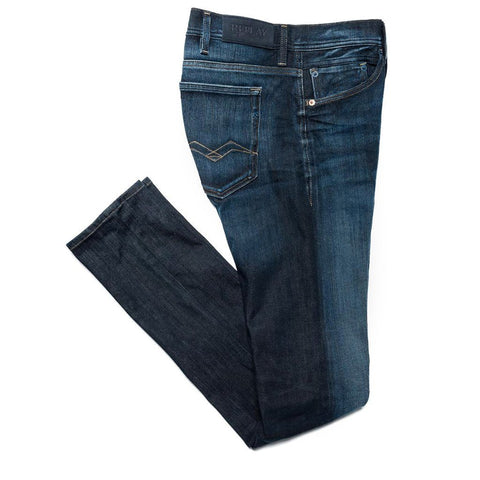 Hyperflex Jondrill Jeans in Blue Jeans Replay