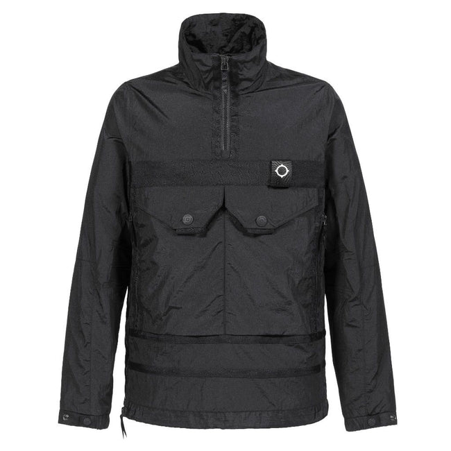 MA.Strum Serpens Overhead Jacket in Jet Black Coats & Jackets MA.STRUM
