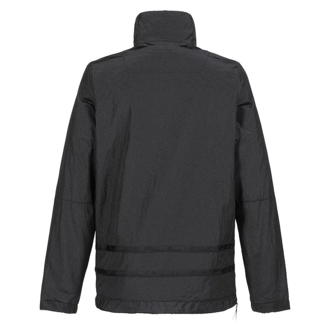 MA.Strum Serpens Overhead Jacket in Jet Black