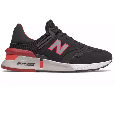 MS997 Sport Trainers in Black/Red Trainers New Balance