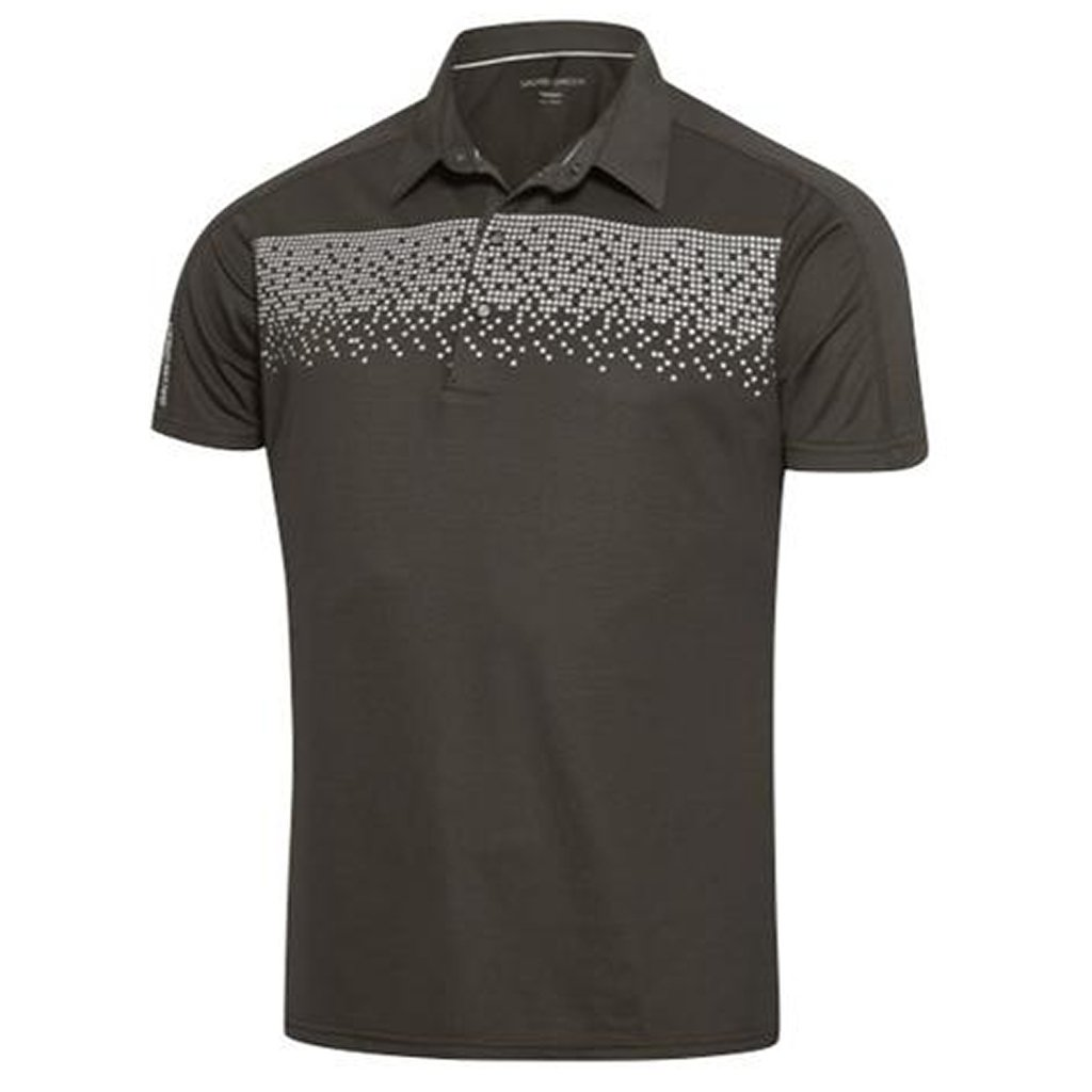 Galvin Green Marcel Ventil8+ Polo Shirt in Beluga / Snow