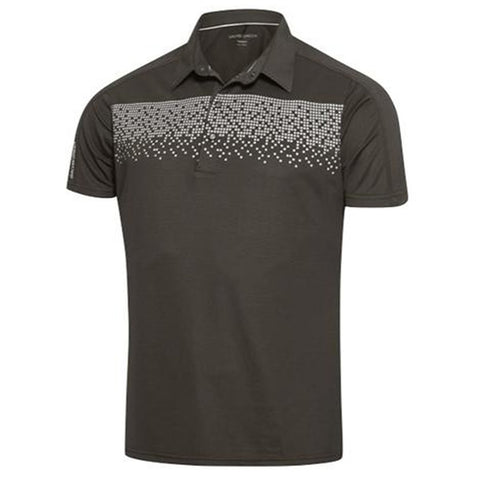 Galvin Green Marcel Ventil8+ Polo Shirt in Beluga / Snow Polo Shirts Galvin Green