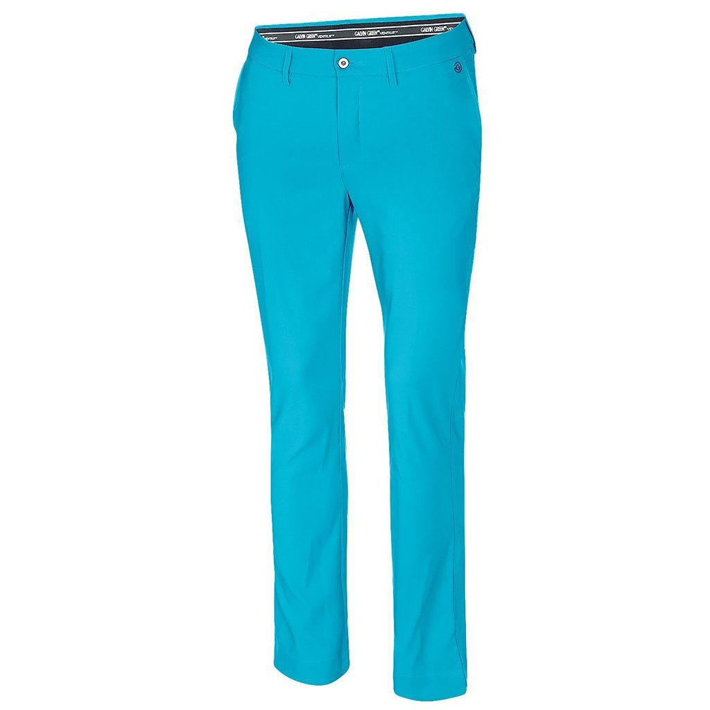 Galvin Green Noah Ventil8+ Golf Trousers in River Blue Trousers Galvin Green