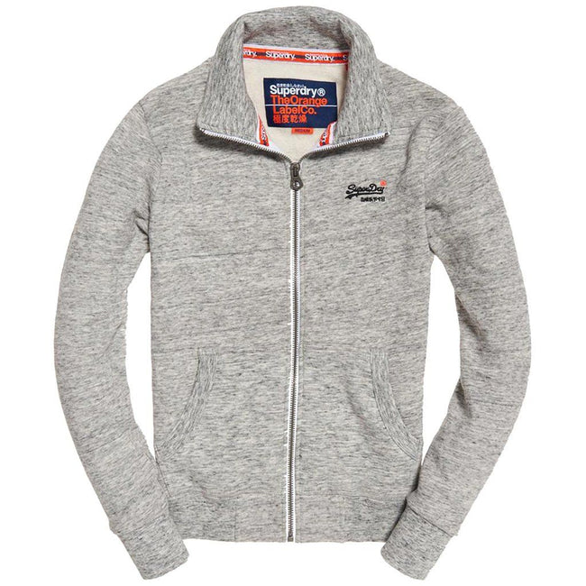 Superdry Orange Label Track Top in Pacific Grey