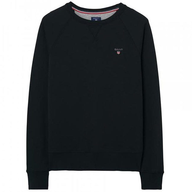 Gant The Original Crew Neck Sweat in Black Jumpers Gant