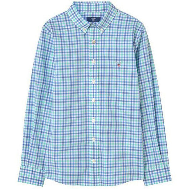 Gant Oxford 3 Colour Gingham in Spearmint