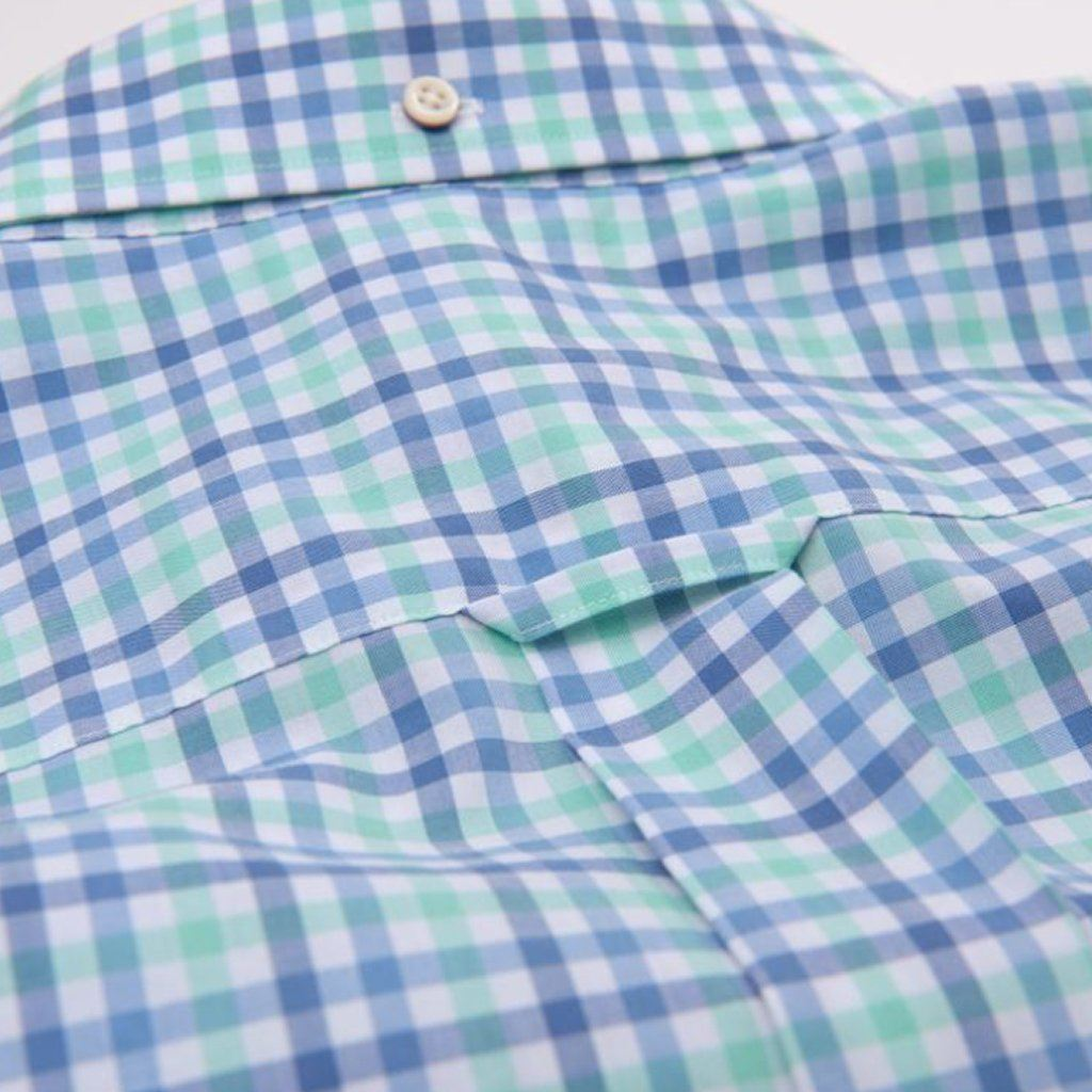Gant Oxford 3 Colour Gingham in Spearmint Shirts Gant