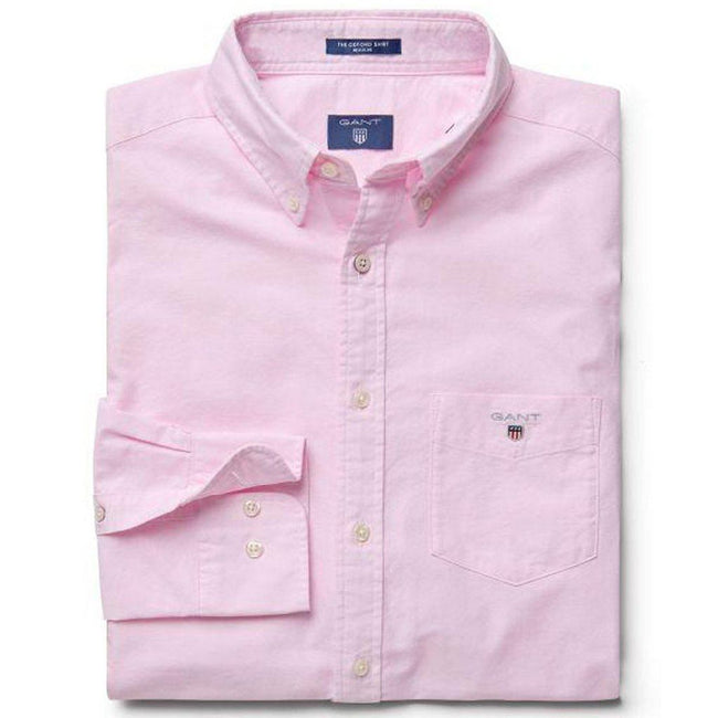 Gant The Oxford Shirt in Light Pink Shirts Gant