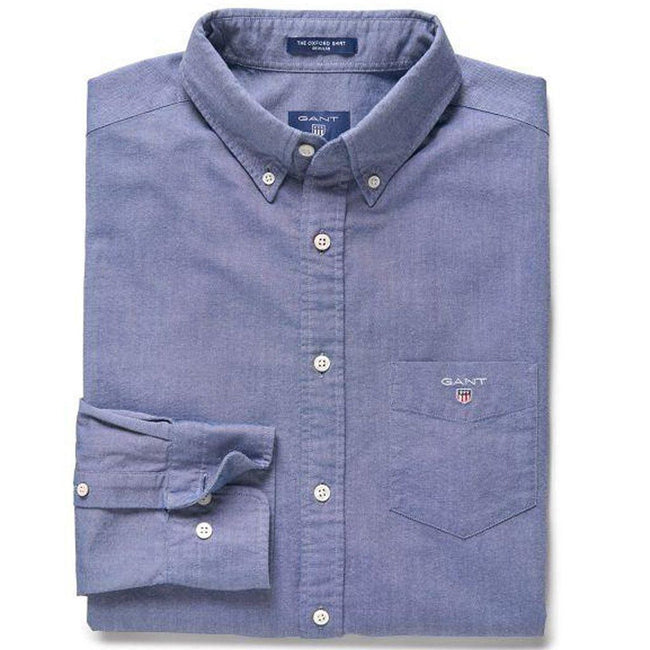 Gant The Oxford Shirt in Persian Blue