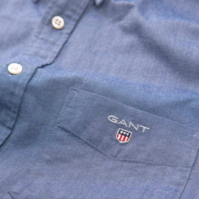 Gant The Oxford Shirt in Persian Blue Shirts Gant
