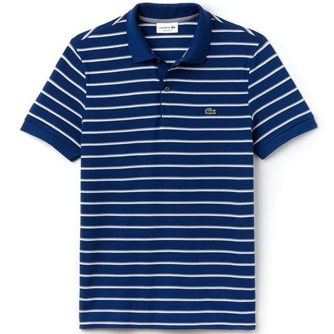 Lacoste PH3150-LRT Polo Shirt in Blue Polo Shirts Lacoste
