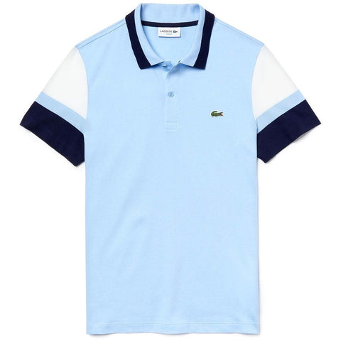 Lacoste PH4223-7RU Polo Shirt in Light Blue Polo Shirts Lacoste