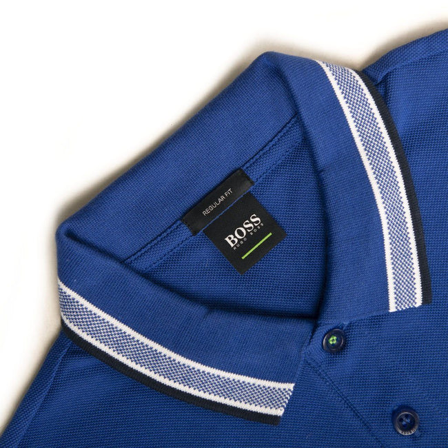 BOSS Athleisure Paddy Polo Shirt in Blue