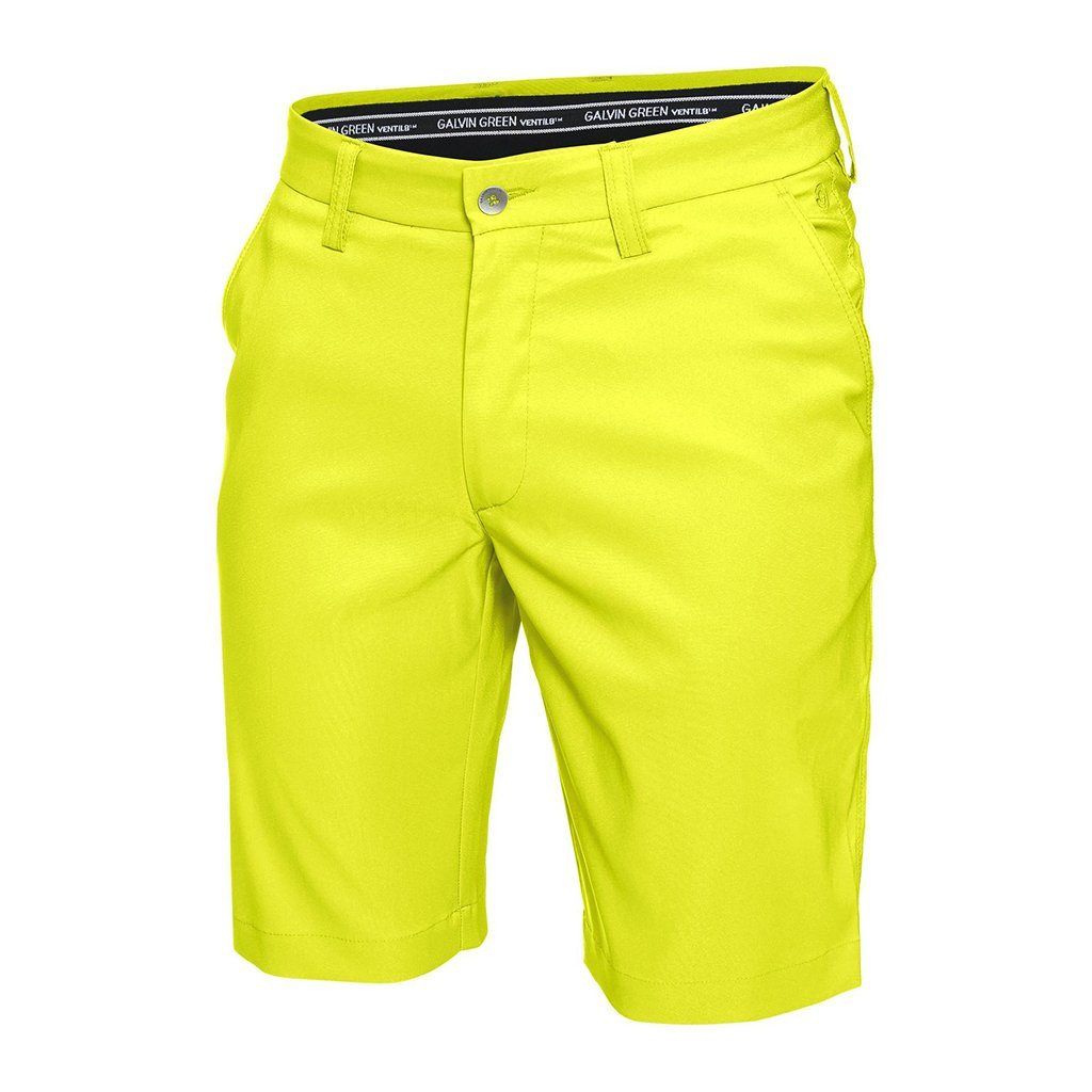 Galvin Green Parker Ventil8+ Shorts in Lemonade Shorts Galvin Green