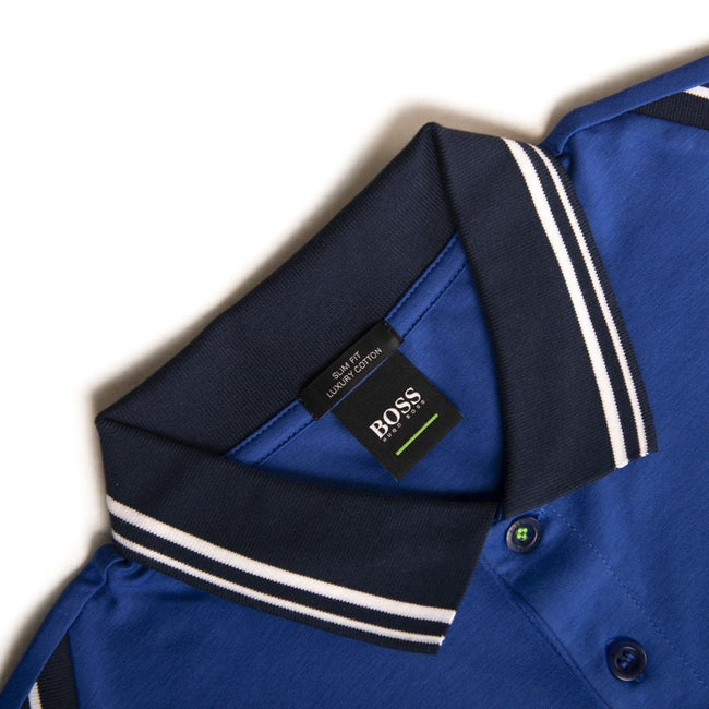 BOSS Athleisure Paule 1 Polo Shirt in Blue