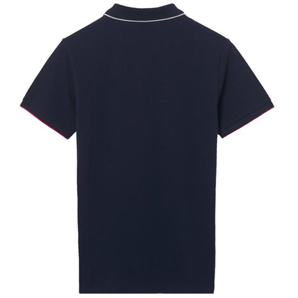 Gant TP Pique SS Rugger in Evening Blue Polo Shirts Gant