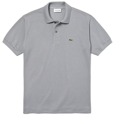 Lacoste L1212-KC8 Polo Shirt in Grey Polo Shirts Lacoste