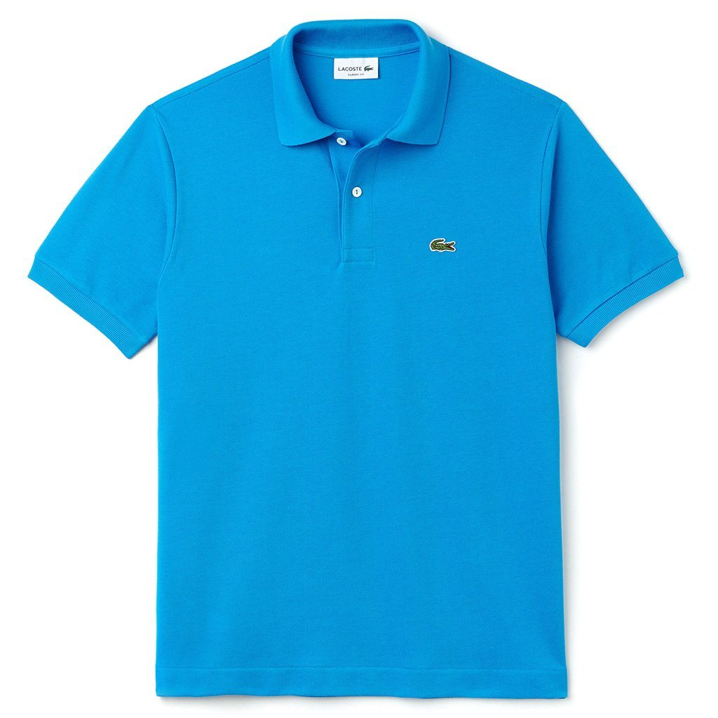 Lacoste L1212-PTV Classic Fit Polo Shirt in Ibiza Blue