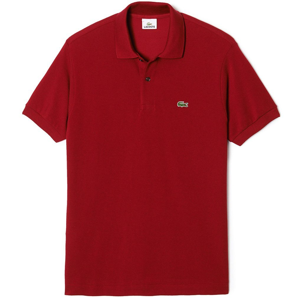 Lacoste Polo Shirt L1212-476 in Red
