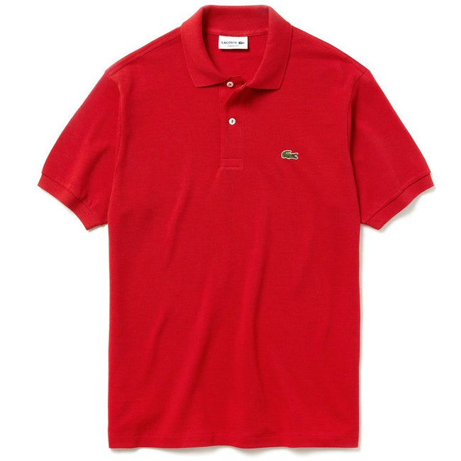 Lacoste L1264-9QA Polo Shirt in Red