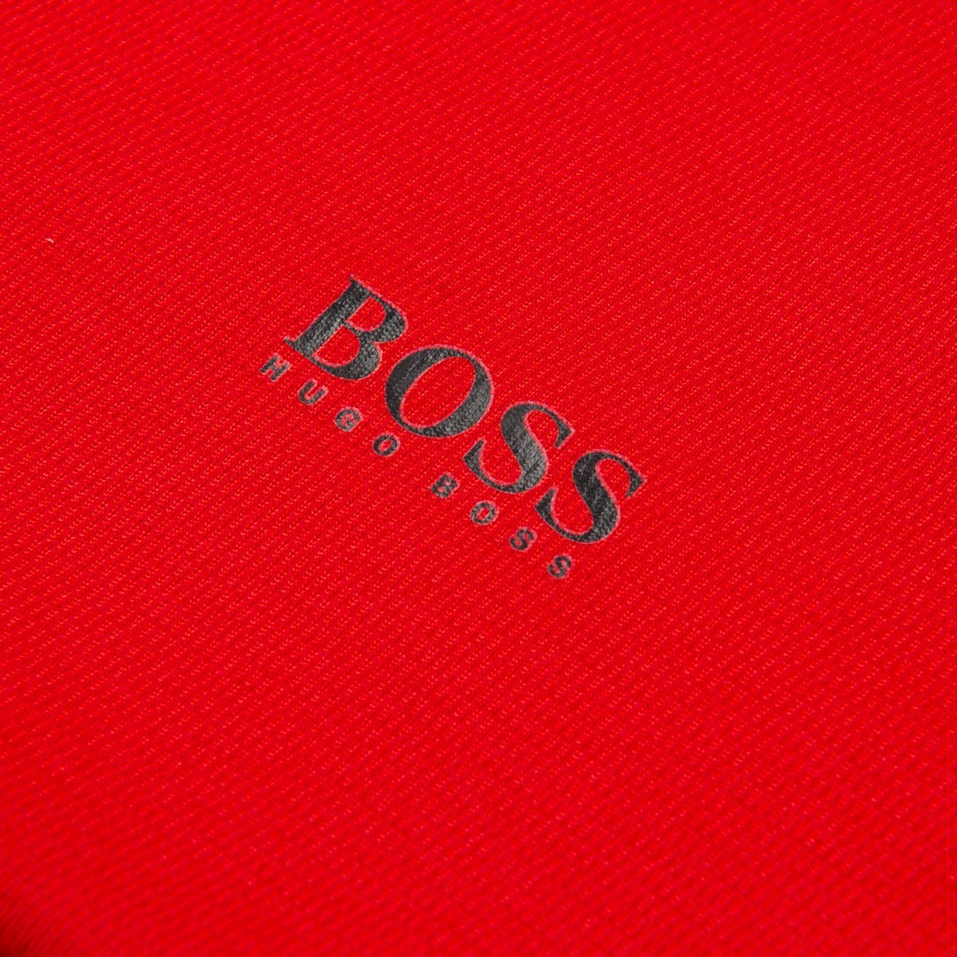 BOSS Athleisure TL-Tech Reflective Logo Performance Tee in Red T-Shirts BOSS