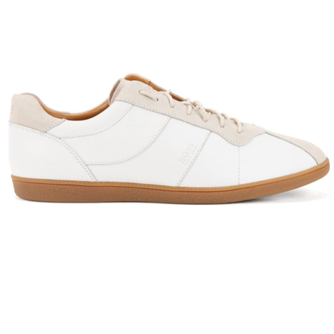 BOSS Athleisure Rumba Tennis Style Trainer in White