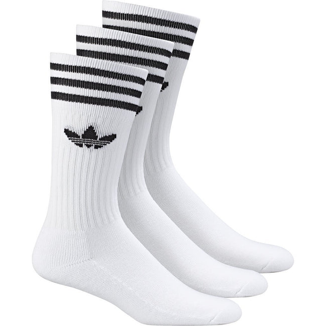 adidas Crew Socks 3-Pack S21489 in White Socks adidas