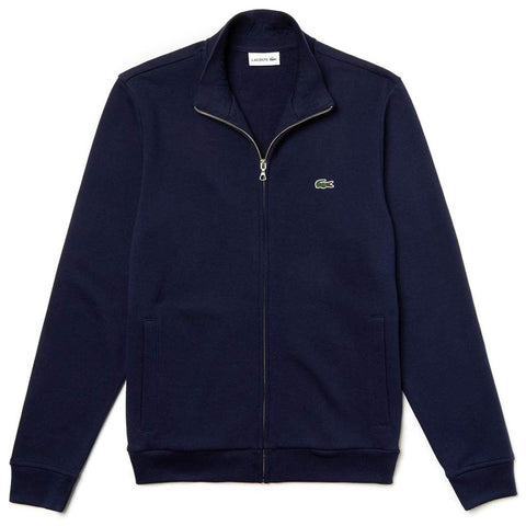 SH4317-166 Full Zip Track Jacket in Navy sweatshirt Lacoste