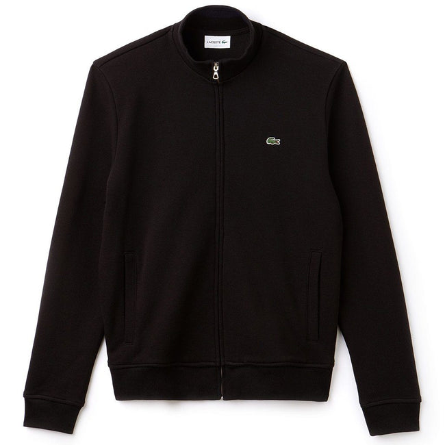 Lacoste SH9257-DY4 Full Zip Sweatshirt in Black