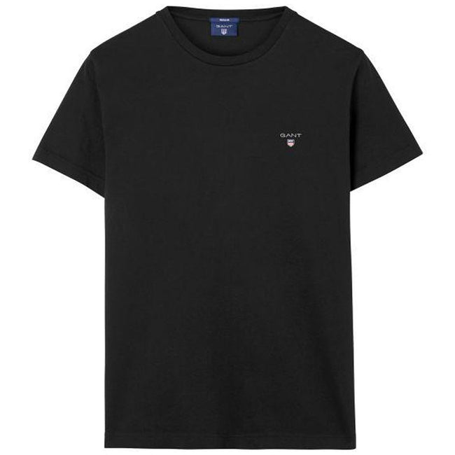 Gant The Original SS T-Shirt in Black T-Shirts Gant